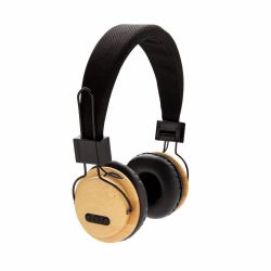 Bamboo wireless headphone, brown