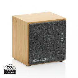 Wynn 5W wireless bamboo speaker, brown