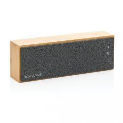 Wynn 10W wireless bamboo speaker, brown