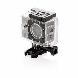 Action camera set, grey