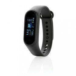 Stay Healthy Bracelet Thermometer, black