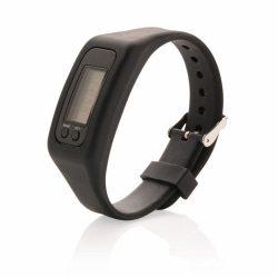 Pedometer bracelet, black