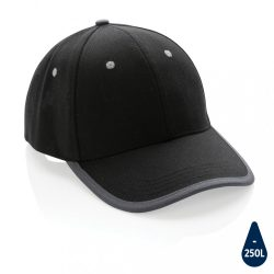 Impact AWARE™ Brushed rcotton 6 panel contrast cap 280gr, bl