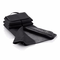 Picnic blanket, black