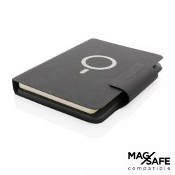 Arctic Magnetic 10W wireless charging A5 notebook, black