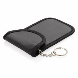 Anti car key theft RFID protector, black