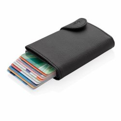 C-Secure XL RFID card holder & wallet, black