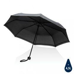 "20.5""Impact AWARE™ RPET 190T pongee mini reflective umbrella"