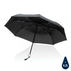 "20.5""Impact AWARE™ RPET 190T pongee mini umbrella, white"