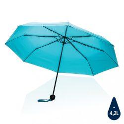 """20.5"""" Impact AWARE™ RPET 190T mini umbrella, blue"""