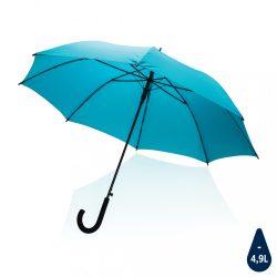 "23"" Impact AWARE™ RPET 190T standard auto open umbrella, blu"